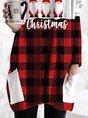 Women's Santa Claus Christmas Printed T-shirt