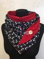 Anchor Casual Knitted Scarf Snd Shawl