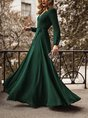 Swing Date Elegant Maxi  Dress