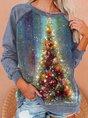 Christmas Snowman Casual Sweatshirt